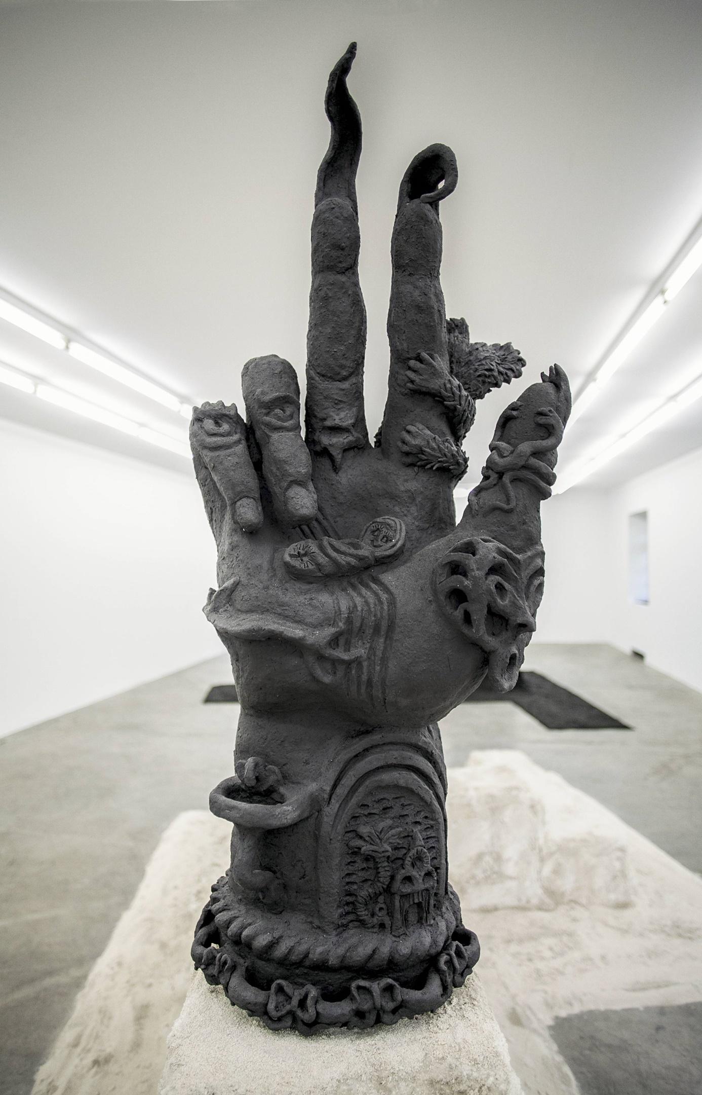Sharon van Overmeiren, The Hand That Keeps Giving , 2019.jpg