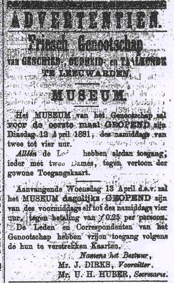 advertentie 1881
