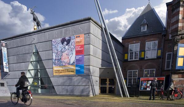 Het oude Fries Museum op de Turfmarkt